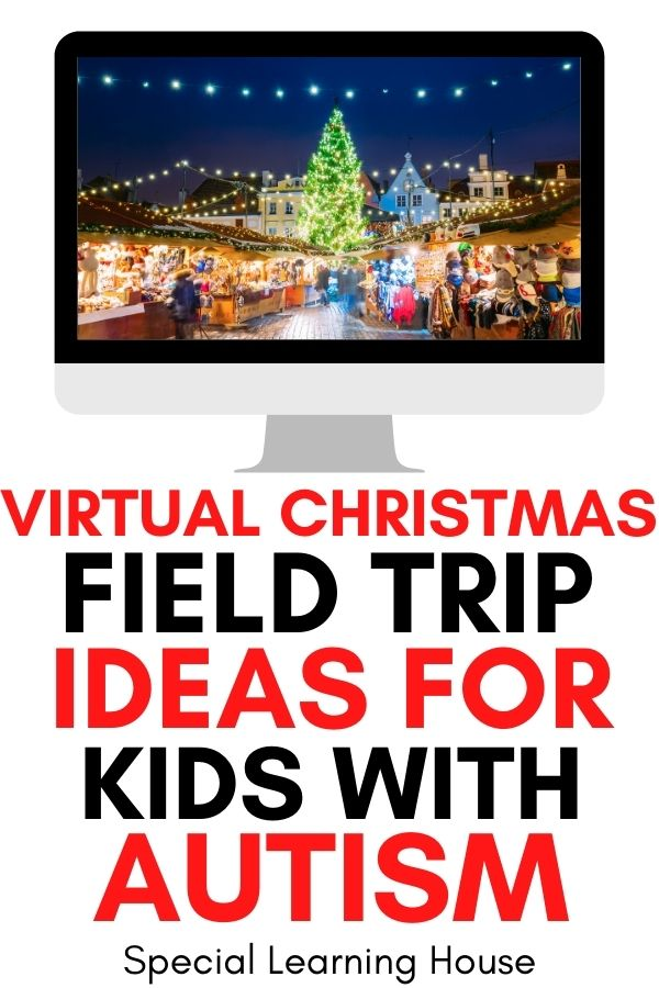 Virtual Christmas Field Trips Ideas for Kids with Autism