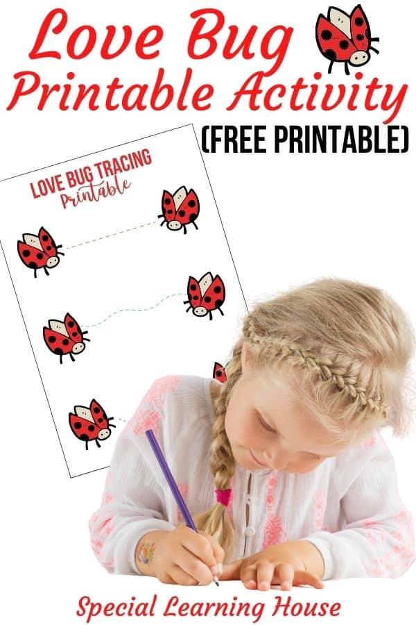 Love Bug Printable Activity 2