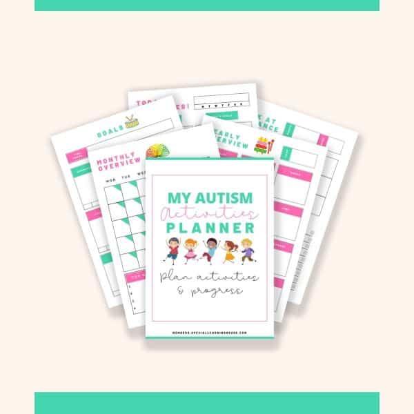 autism activities planner
