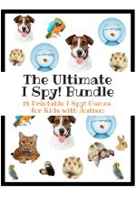 Printable Eye Spy Games for Kids with Autism