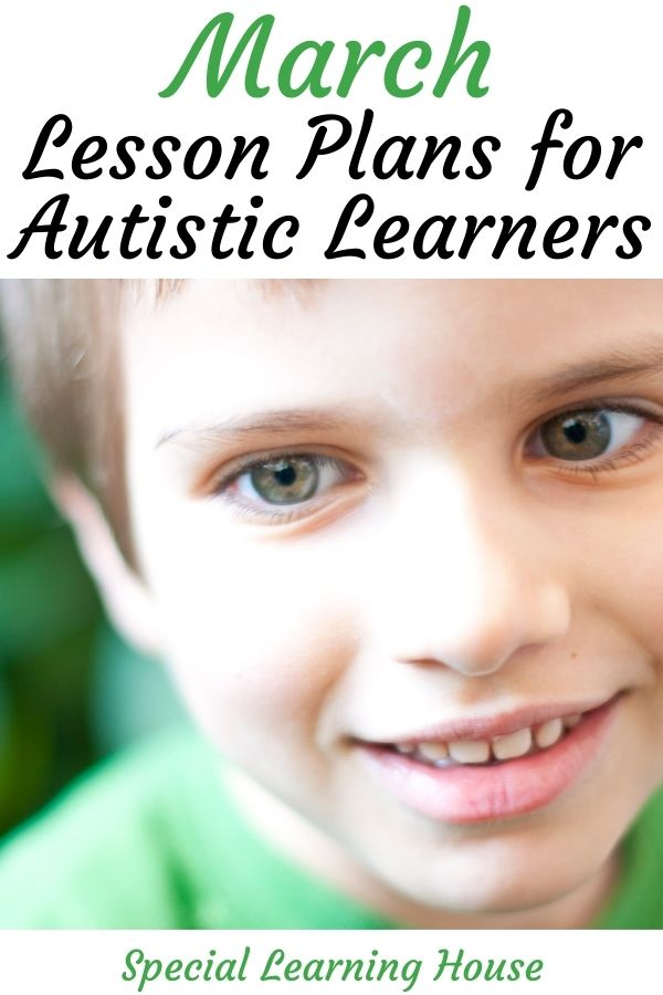 March Lesson Plans for Autistic Learners 2