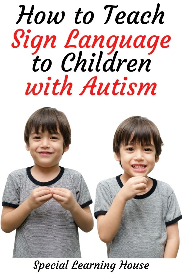 How to Teach Sign Language to Children with Autism Cover