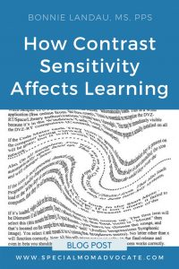 How Contrast Sensitivity Affects Learning | Irlen Syndrome