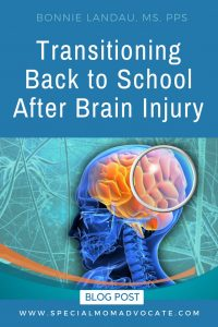 Back to School After Brain Injury