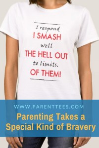 I respond well to limits. I smash the hell out of them! t-shirt