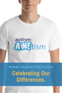 AWEtism, autism t-shirt