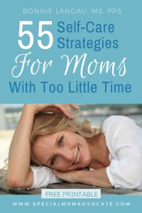 55 Self-care strategies for moms