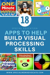 18 Apps the Help Build Visual Processing Skills