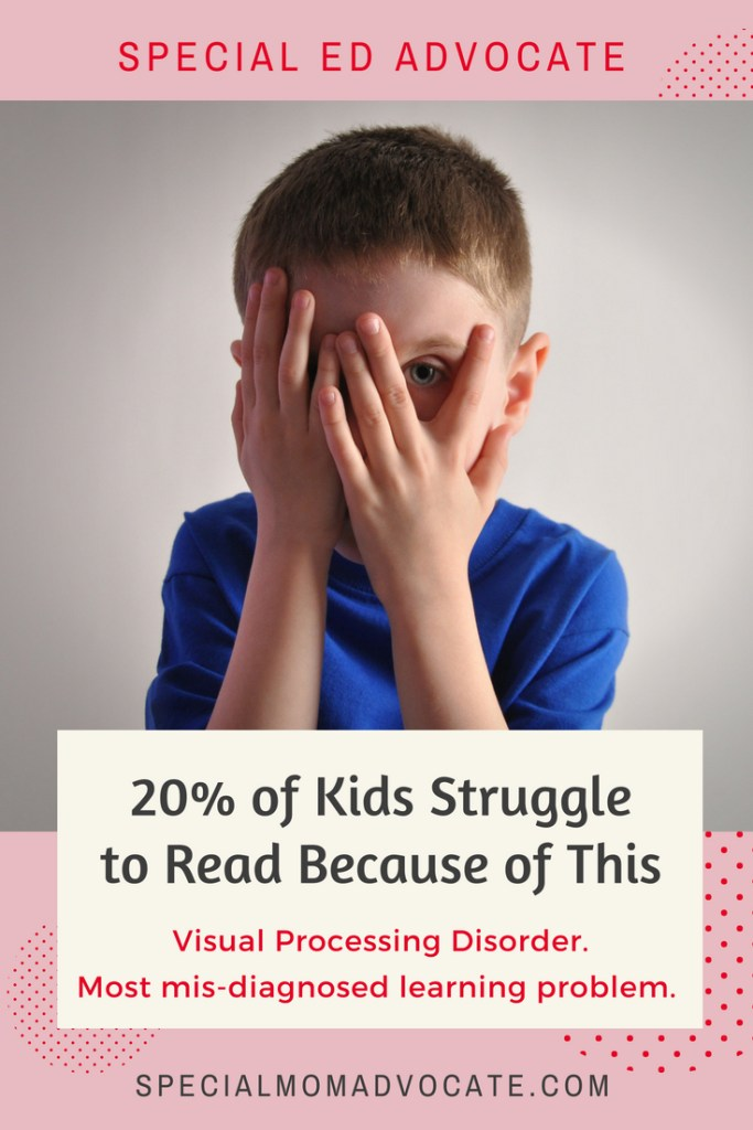 Visual Processing Disorder, Dyslexia, Difficulty Reading