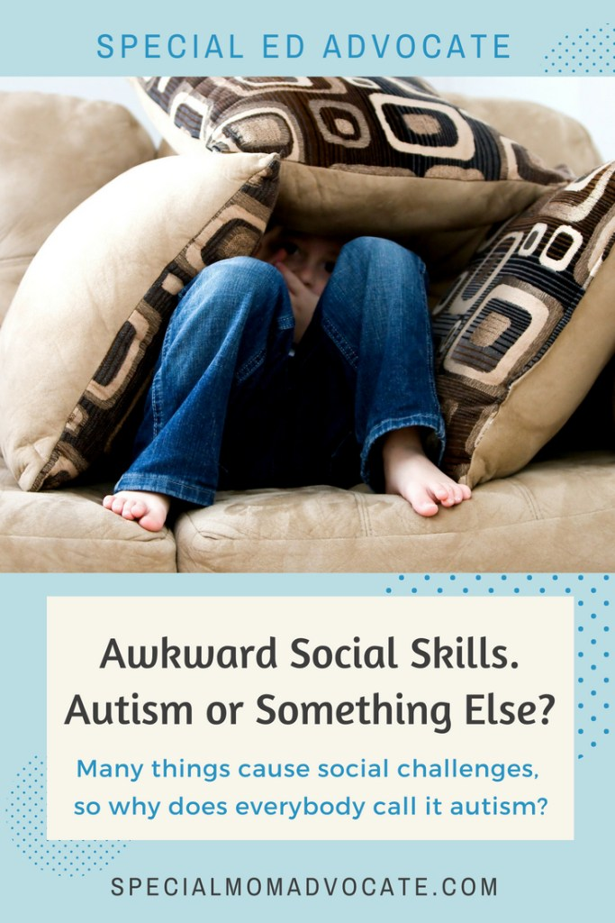 Awkward Social Skills. Autism or Something Else?