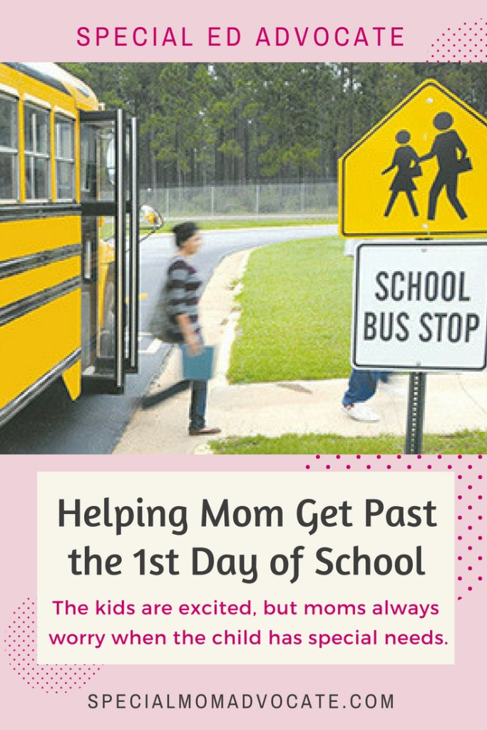 Helping Mom Get Past the First Day of School