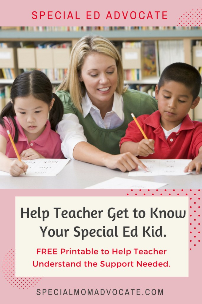 Making Sure Gen Ed Teachers Provide Accommodations