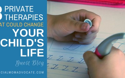 3 Private Therapies that Can Change Your and Your Child's Life