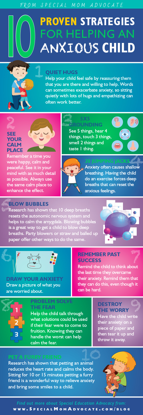 what helps for anxiety