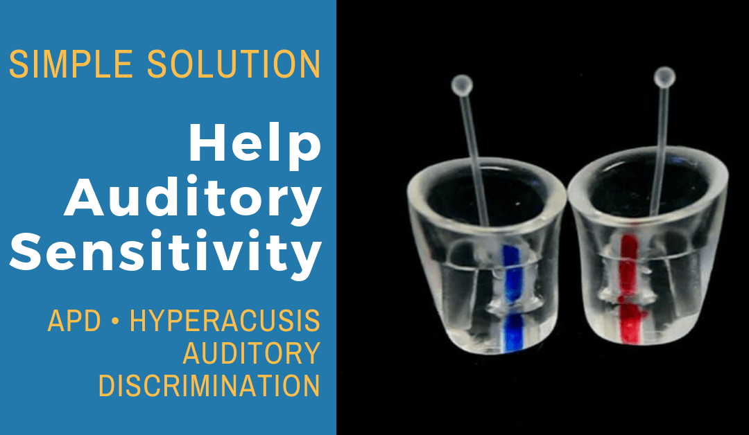 A Simple Solution to Help Auditory Sensitivity