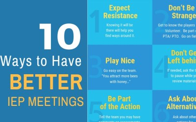 10 Ways to Have Better IEP Meetings