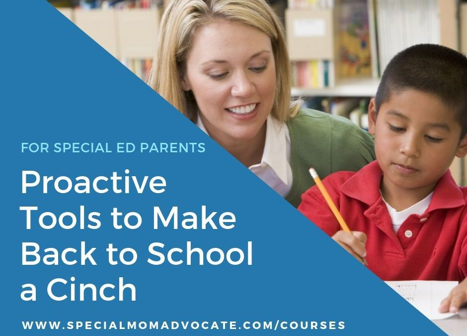 Proactive Tools to Make Back to a School a Cinch