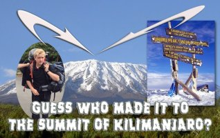 He did it! Son1, 15, made the summit of Kilimanjaro!