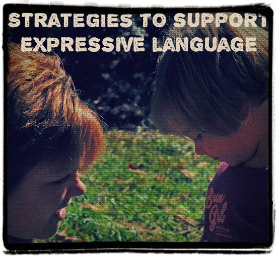 strategies to support expressive language