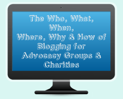 SNJ's Top Blogging Tips for groups and charities