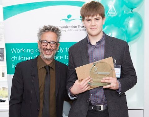 SAL 2015 - Young Person winner Jonathan Middleditch