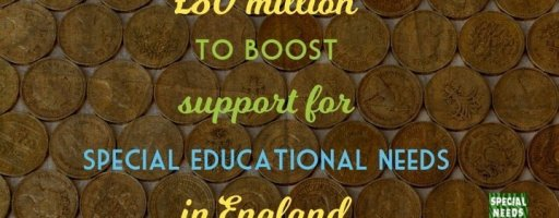 £80 million to boost support for Special Educational Needs