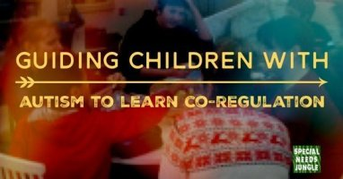 Guiding children with autism to learn co-regulation