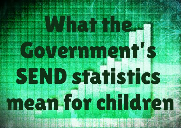What the Government's SEND statistics mean for children