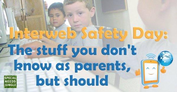 Interweb Safety Day