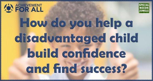 how do you help disadvantaged child?