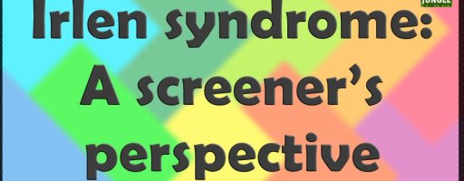 Irlen syndrome: a screener's perspective