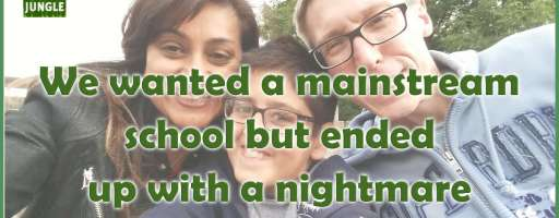 Our wish for a mainstream school turned into a nightmare