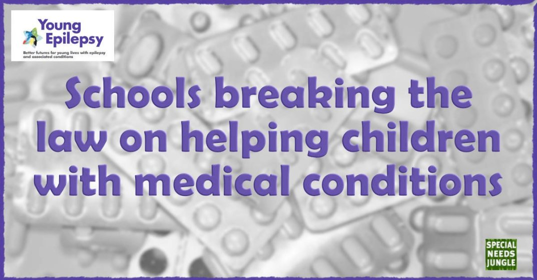 Schools breaking the law on helping children with medical conditions