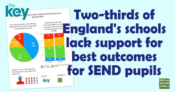 Two-thirds of England's schools lack support for best outcomes for SEND pupils