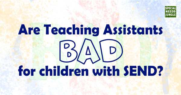 title image: are teaching assistants bad for children send