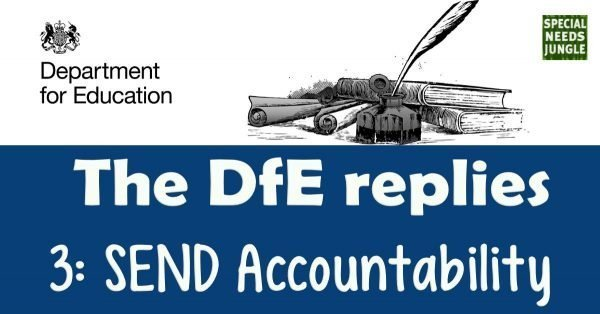 Dfe Replies- SEND Accountability