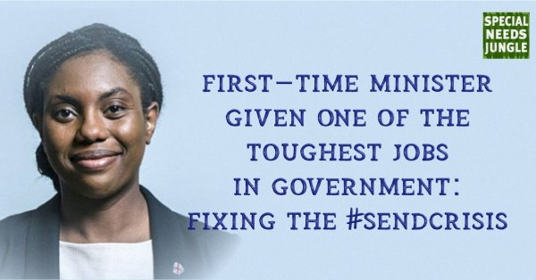 First-time minister given one of the toughest jobs in government: Fixing the #SENDcrisis