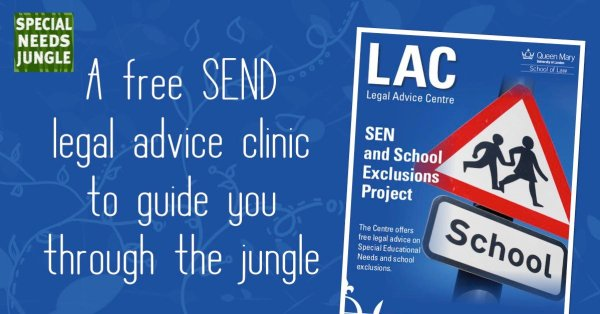 A free SEND legal advice clinic to guide you through the jungle