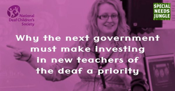 Why the next government must make investing in new teachers of the deaf a priority