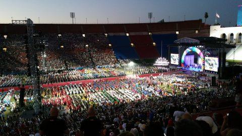 Cérémonie ouverture Jeux Mondiaux