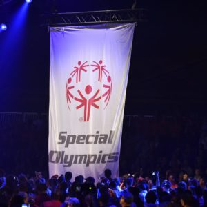 20140913 – BELGIUM, BRUSSELS: the opening ceremony of the Special Olympics. / Stage/ PHOTO LEPOIVRE / SPECIAL OLYMPICS