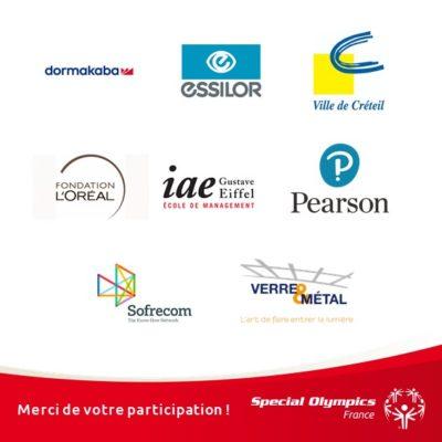 Pavés logos entreprises participantes Créteil 2019