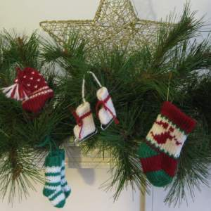 Assorted 4 ornament pack