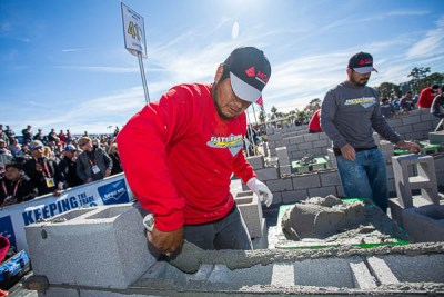 MCAA Fastest Trowel on the Block