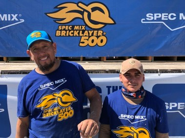 SPEC MIX BRICKLAYER 500 NORTH TEXAS REGIONAL SERIES - 3RD PLACE