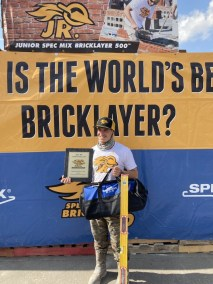 SPEC MIX JUNIOR BRICKLAYER 500 - NORTH TEXAS 2020 1ST PLACE