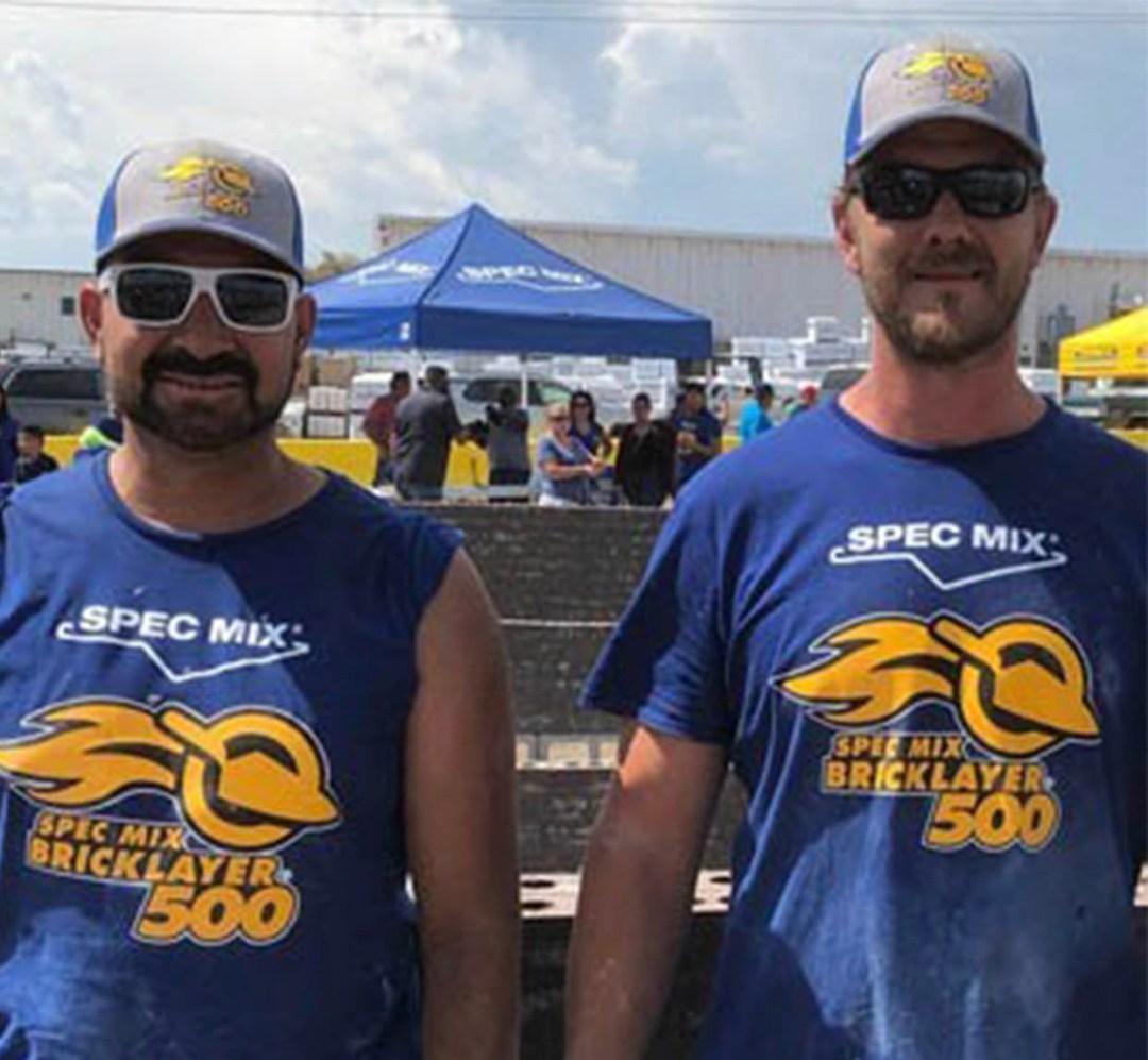 SPEC MIX BRICKLAYER 500 Colorado Regional Winner Jason Boll