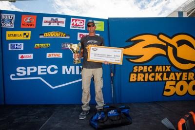 Steve Braswell wins SPEC MIX TOUGHEST TENDER