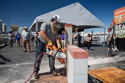 STIHL showing off at World of Concrete in Las Vegas