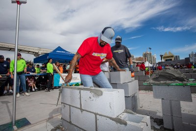 MCAA's Fastest Trowel at World of Concrete in Las Vegas